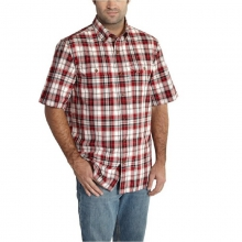 Men's Fort Plaid Short Sleeve Button Up Shirt in State College, PA