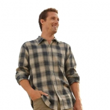 Men's Vintage Plaid Button-Up Shirt in State College, PA