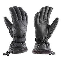 Black Feather S Womens Gloves by Leki