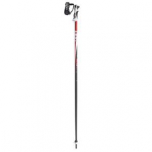 Spark S Ski Pole, Anthracite/Red, 46 by Leki