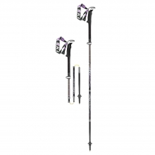 Women's Micro Vario Carbon Lady Trekking Pole - Pair by Leki
