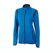 Tulip Knit Warm Up Jacket by Wilson