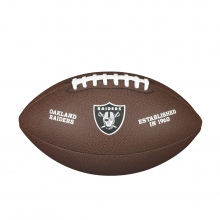 NFL Team Logo Composite Football - Official, Oakland Raiders by Wilson