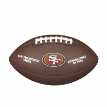 NFL Team Logo Composite Football - Official, San Francisco 49ers by Wilson