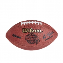 NFL Super Bowl XXVIII Leather Game Football - Official (Pro Pattern) by Wilson