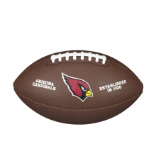 NFL Team Logo Composite Football - Official, Arizona Cardinals by Wilson