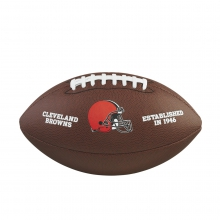 NFL Team Logo Composite Football - Official, Cleveland Browns by Wilson