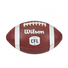 Official Cfl Game Leather Football - Official by Wilson