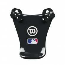 Throat Protector Black, 4""