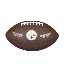 NFL Team Logo Composite Football - Official, Pittsburgh Steelers by Wilson