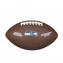 NFL Team Logo Composite Football - Official, Seattle Seahawks by Wilson