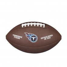 NFL Team Logo Composite Football - Official, Tennessee Titans by Wilson