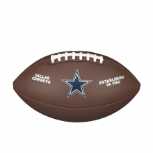 NFL Team Logo Composite Football - Official, Dallas Cowboys by Wilson