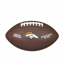 NFL Team Logo Composite Football - Official, Denver Broncos by Wilson