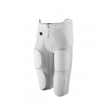 REDI-PLAY PRACTICE FOOTBALL PANT - WHITE, YOUTH 2XL by Wilson