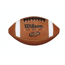 TDJ GST Leather Football - Junior by Wilson