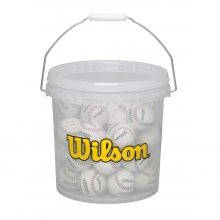 Bucket of Baseballs - 3 Dozen