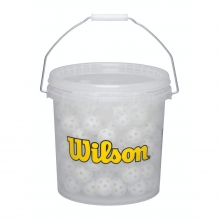 Bucket of Wiffle Balls by Wilson in Ames Ia