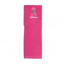 Pink Football Field Towel by Wilson