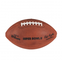 NFL Super Bowl II Leather Game Football - Official (Pro Pattern) by Wilson