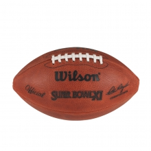 NFL Super Bowl XI Leather Game Football - Official (Pro Pattern) by Wilson