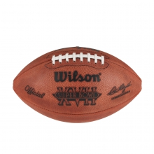 NFL Super Bowl XVII Leather Game Football - Official (Pro Pattern) by Wilson