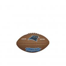 NFL Team Logo Mini Size Football - Carolina Panthers by Wilson