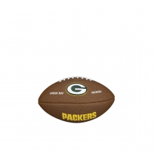 NFL Team Logo Mini Size Football - Green Bay Packers by Wilson