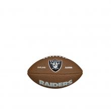NFL Team Logo Mini Size Football - Oakland Raiders by Wilson