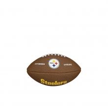 NFL Team Logo Mini Size Football - Pittsburgh Steelers by Wilson