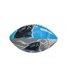NFL Team Logo Junior Size Football - Carolina Panthers by Wilson