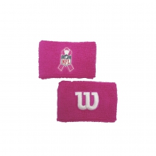 NFL BCA FB WRISTBAND - PINK by Wilson