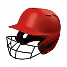 SuperFit Helmet with Conform Adjustment System with HD Vision Mask by Wilson