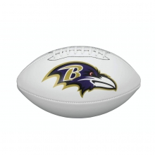 NFL Team Logo Autograph Football - Official, Baltimore Ravens by Wilson