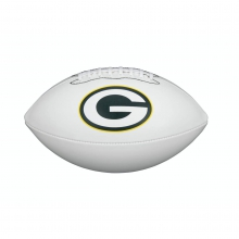 NFL Team Logo Autograph Football - Official, Green Bay Packers by Wilson