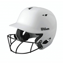 Collegiate 2.0 Batting Helmet with HD Vision Mask