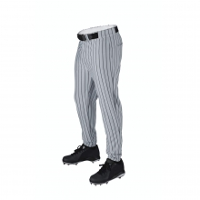 Deluxe Team Poly Warp Knit Pant with Pinstripe - Youth by Wilson