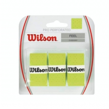 Pro Overgrip Perforated, 3 Pack by Wilson