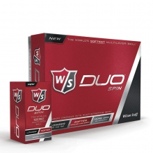 Wilson Staff Duo Spin Golf Balls by Wilson