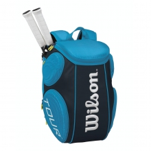Tour Molded 2 Pack Tennis Backpack Blue by Wilson