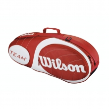 Team Red & White 3 Pack Tennis Bag by Wilson