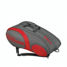 Team Gunmetal/Red 12 Pack by Wilson