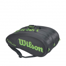 Tour Black/Lime 15 Pack by Wilson