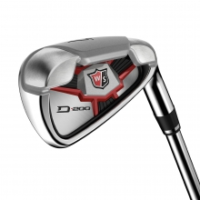 Wilson Staff D200 Irons - Graphite by Wilson in Madison Wi