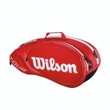 Tour Red 6 Pack by Wilson
