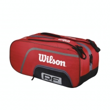 Federed Team Red 12 Pack Tennis Bag by Wilson