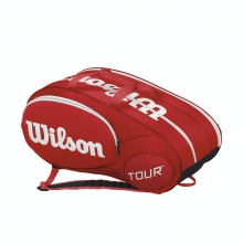 Mini Tour Red 6 Pack Tennis Bag by Wilson