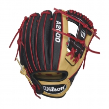 "A2000 Dustin Pedroia Super Skin GM 11.5"" Baseball Glove - Right Hand Throw by Wilson in Ames Ia"