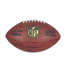 NFL Team Logo The Duke Game Leather Football - Washington Redskins by Wilson