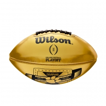CLEMSON COLLEGE FOOTBALL PLAYOFF CHAMPIONS BALL - OFFICIAL by Wilson